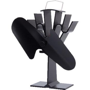 Mi-Flues Heat-Powered Stove Fan